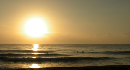 Sunrise Surfers - Jeff Fishman - Kauai Web Design.com